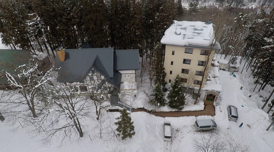 Arial view - Hotel & Pension