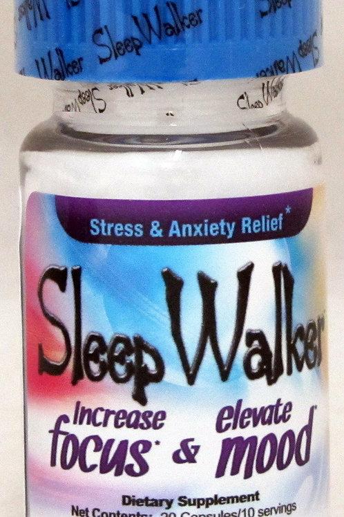 Red X Dawn Sleep Walker Mood Enhancer Bottle Pill Capsule