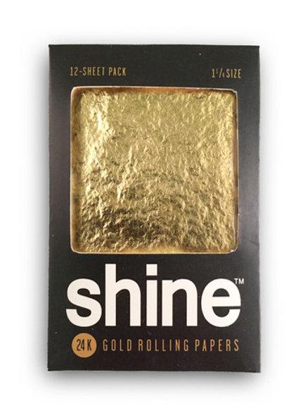 Shine 24k gold 1.25 Size