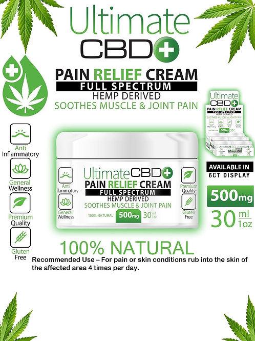 Ultimate CBD Pain Relief Cream 500mg