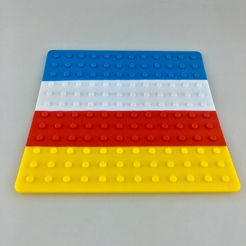 BudderBlocks Silicone Mat - Tooty Fruity