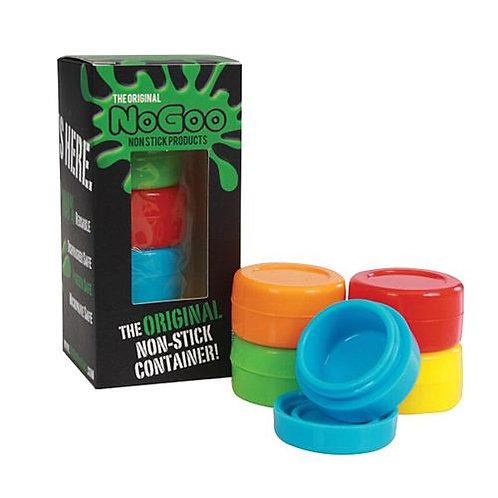 No Goo Silicone Jars 5pk