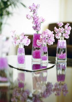 Sweet pea bud vase