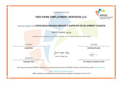 NMSDC Certification