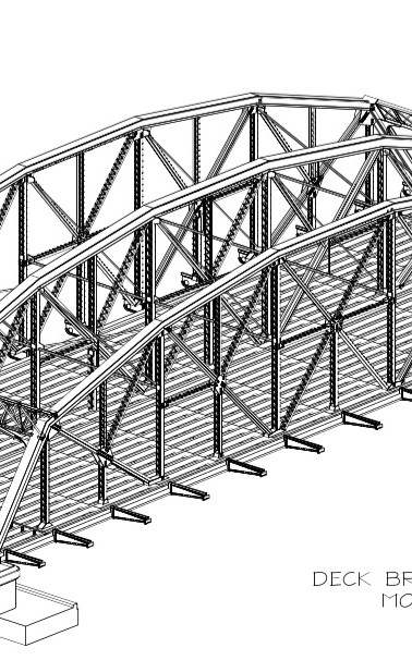 Ayala Bridge 3D Model