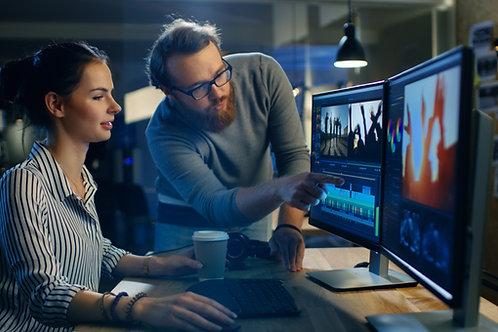 10 HR Video Editing Block