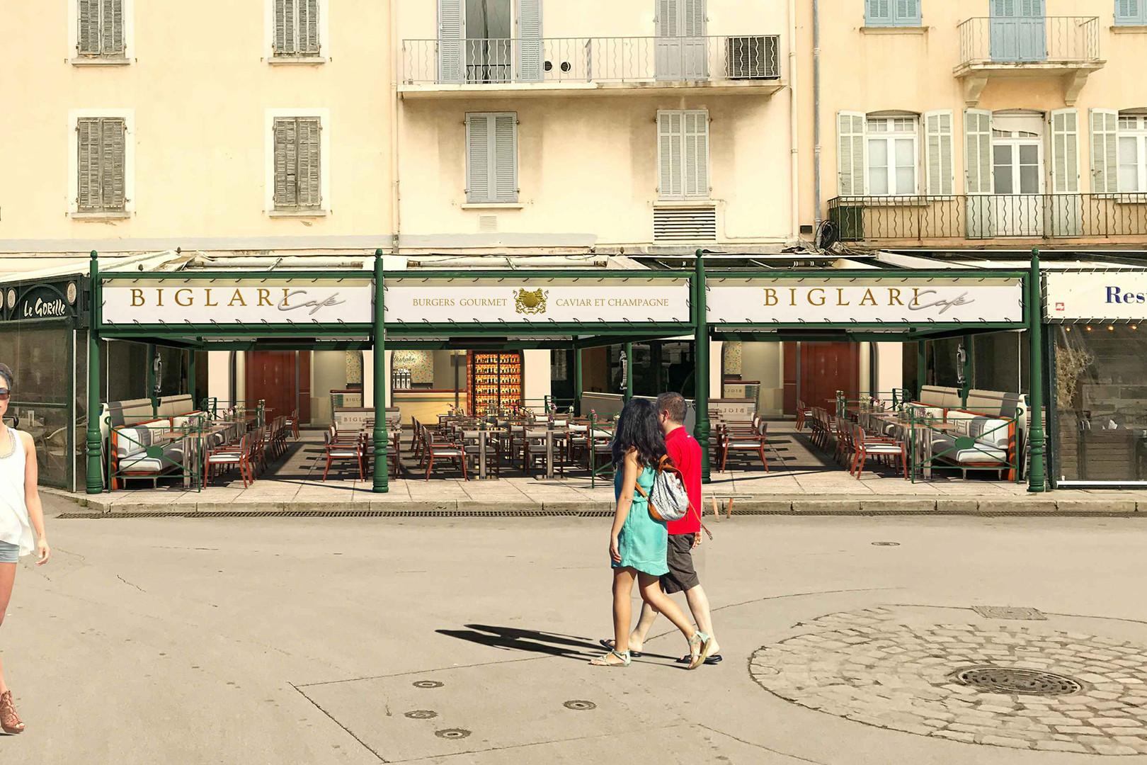 Biglari Cafe, St Tropez