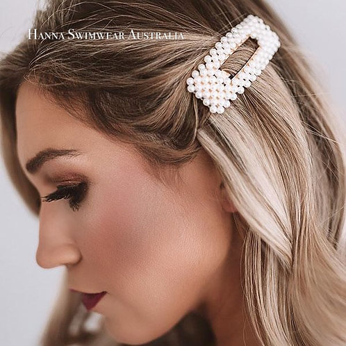 PEARLY Rectangle Hair Clip
