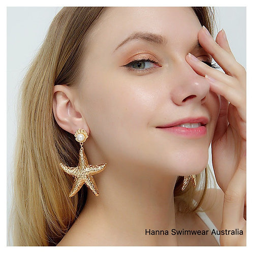 ASTERIAS Starfish Earrings in (Gold/Silver)