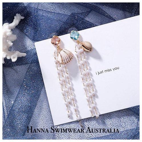 ANNA MARIA S925 Seashell Earrings
