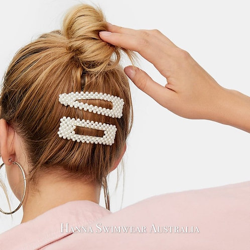 PEARLY-PEARLA Hair Clip Set