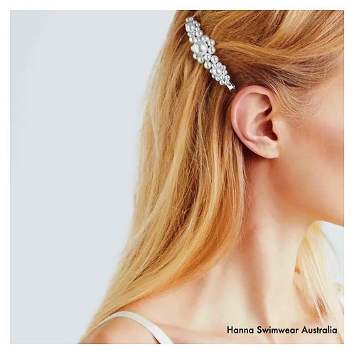 PEARLY Cluster Hair Clip