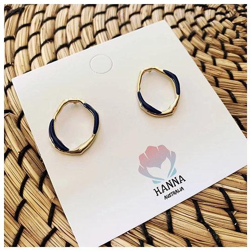 KENZIE Round Earrings