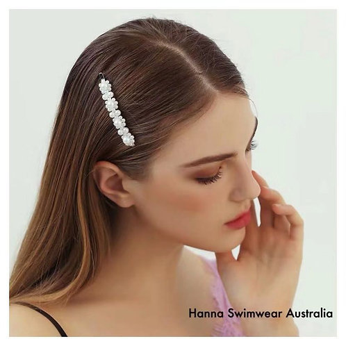 FLORA-PEARLY Cluster Hair Clip