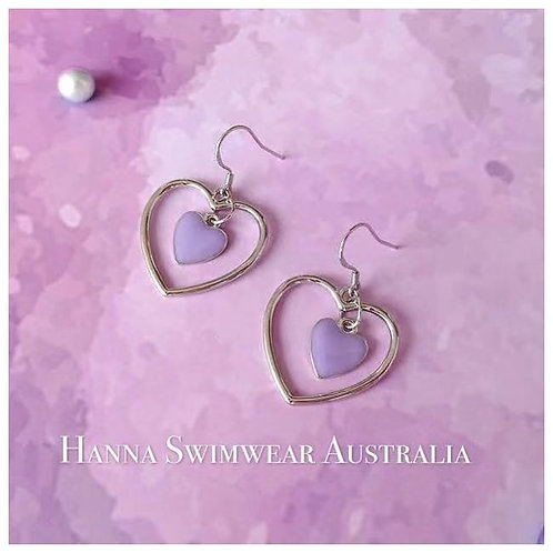 LOVE PERIWINKLE S925 Earrings