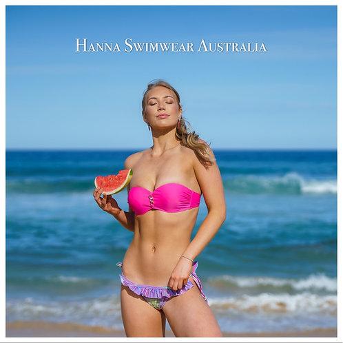 PULCHRA HOT-Pink Bikini Set