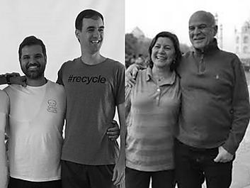 Mestres queridos - Thiago Leão, Carlos Henrique Viard Jr, Deise Rodrigues e Marco Rojo