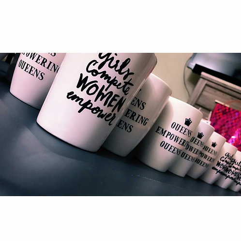 Girls Compete Mug