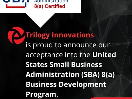 Trilogy Innovations, Inc. Announces 8(a) Certification