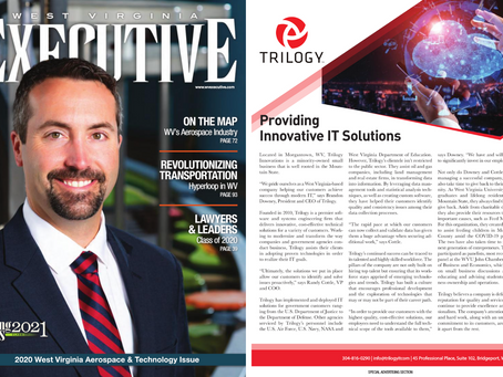 Trilogy Featured Article in WV Executive Magazine