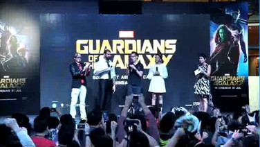 Marvel Guardians of The Galaxy Asian Tour