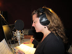 Stemactrice, narration, voice over