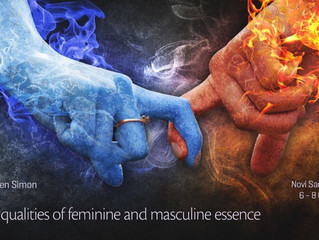 The 4 Qualities of Feminine and Masculine Essence — 06.10.2017