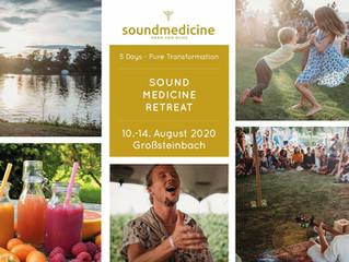 Soundmedicine Retreat                    (holistic healing arts gathering)