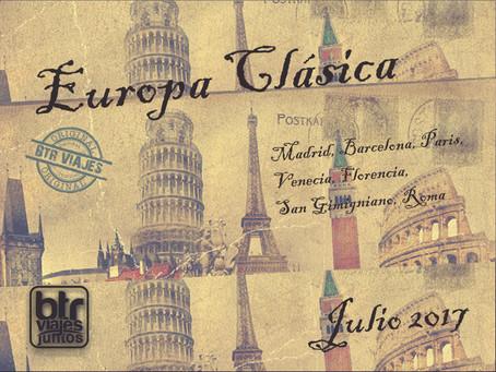 BTR JUNTOS - Europa Clásica 2017