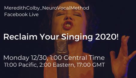 FBL: Reclaim Your Singing 2020