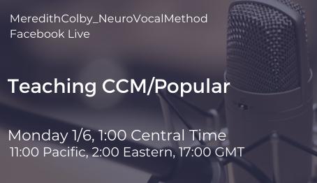 FBL: Teaching CCM/Popular