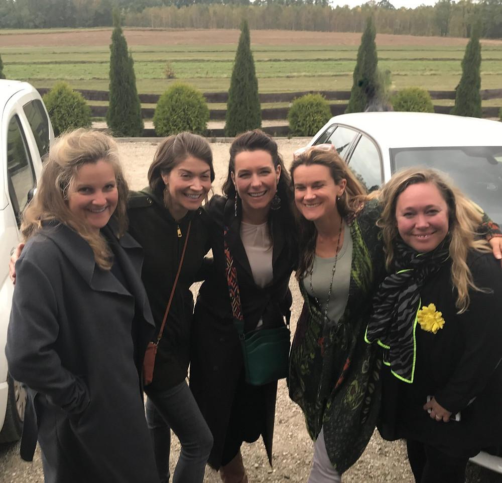 Charlotte Shorthouse, Barbara Tanze, Magda Navarrete, Rachel Black, & Lise Liv