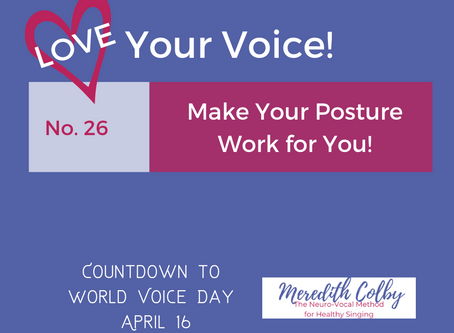 30 Tips in 30 Days: Vocal Tip No. 26
