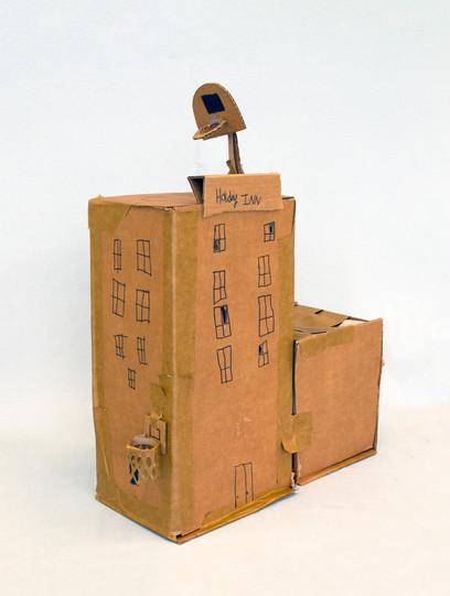 Project: Places Creation Date: 2020 Medium: cardboard School: Detroit Achievement Academy Grade: 6th-7th grade Description: created on the Education Days