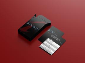 FRIGID Playing Cards Mockup