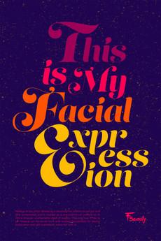 Facial Expression Poster