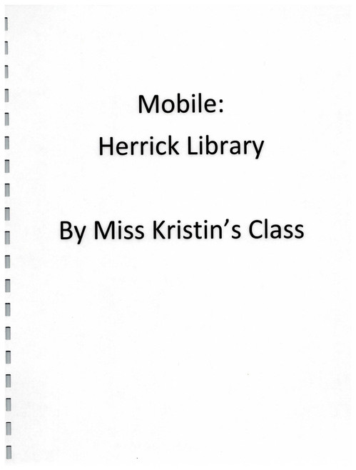 Booklet of Mobile: Herrick Library