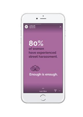 Instagram Story Ad Screenshot Mockup
