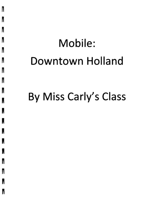 Booklet of Mobile: Downtown Holland