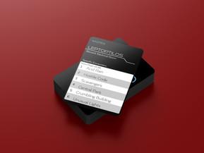 FRIGID Palying Cards Mockup