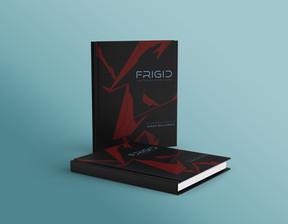 FRIGID Hardcover Book Mockup