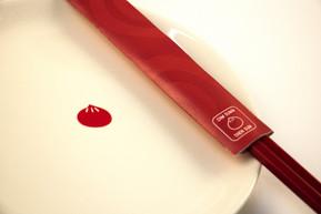 Plate and Chopstick Sleeve