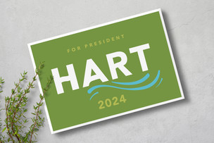Hart Green Sign