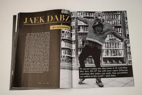 Magazine: JAEK DABZ Spread
