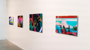 Exhibition: Weighted Adaptations (Right Wall)