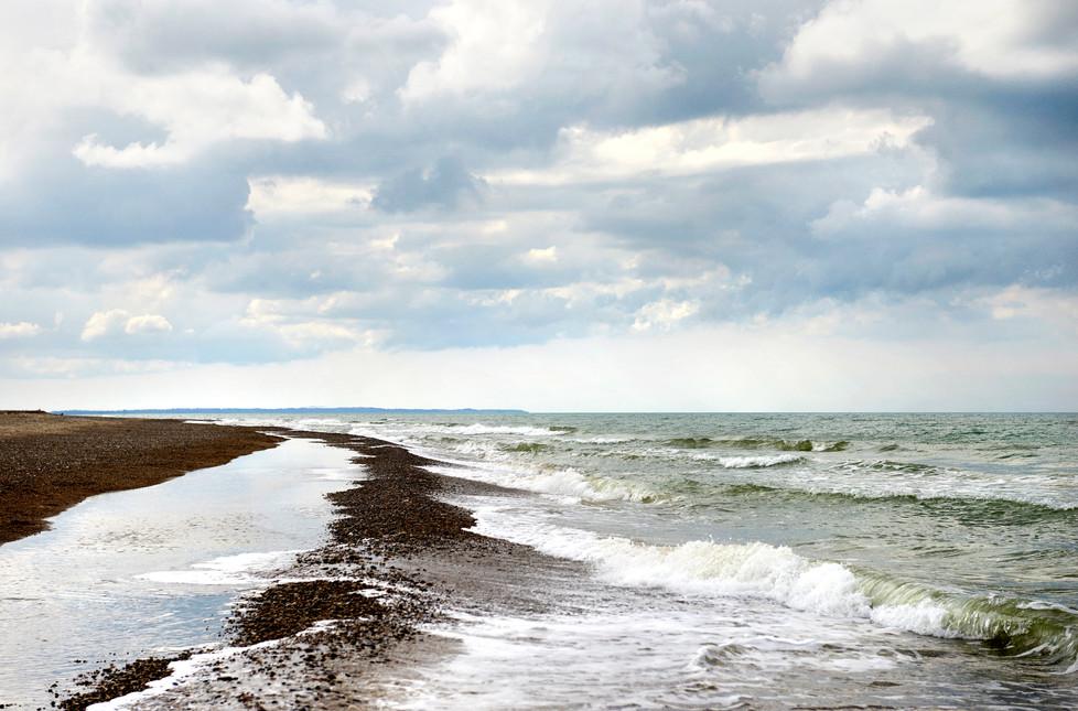 Artwork Sælges som print Fra kr. 850,-  Titel - Vesterhavet