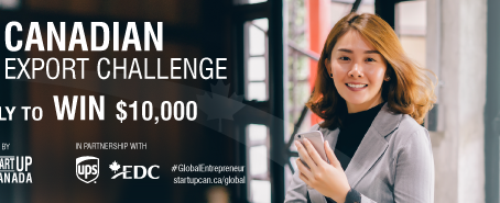 Canadian Export Challenge | Startup Canada Invitation