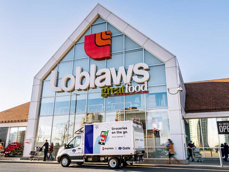 Loblaw and Gatik to deploy Canada's first self-driving delivery fleet
