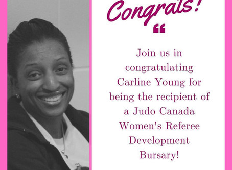 Congrats! Carline Young