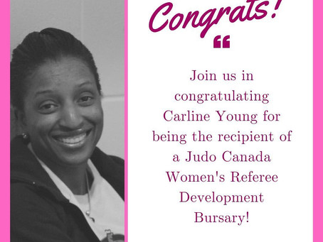 Congrats! Carline Young